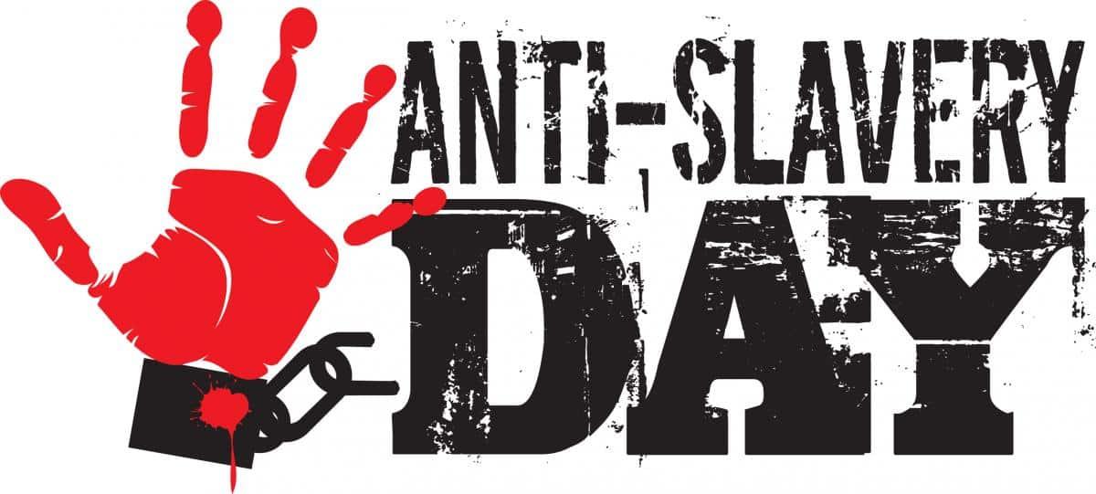 Anti-Slavery Day 18th October 2018